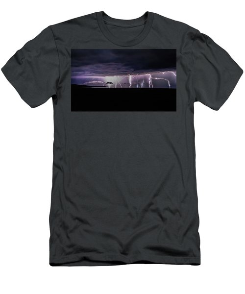 Fingers Of God Men's T-Shirt (Athletic Fit)
