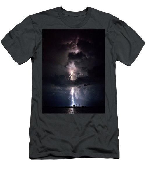 Lightning Men's T-Shirt (Slim Fit) by Richard Zentner