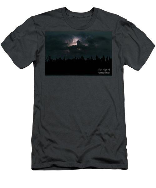 Lightning Storm Men's T-Shirt (Athletic Fit)
