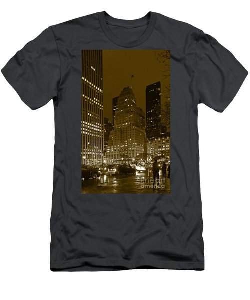 Lights Of 5th Ave. Men's T-Shirt (Athletic Fit)