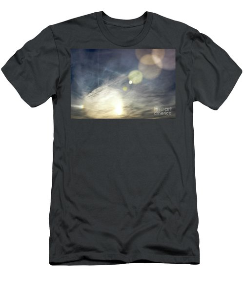 Men's T-Shirt (Slim Fit) featuring the photograph Lightshow by Colleen Kammerer