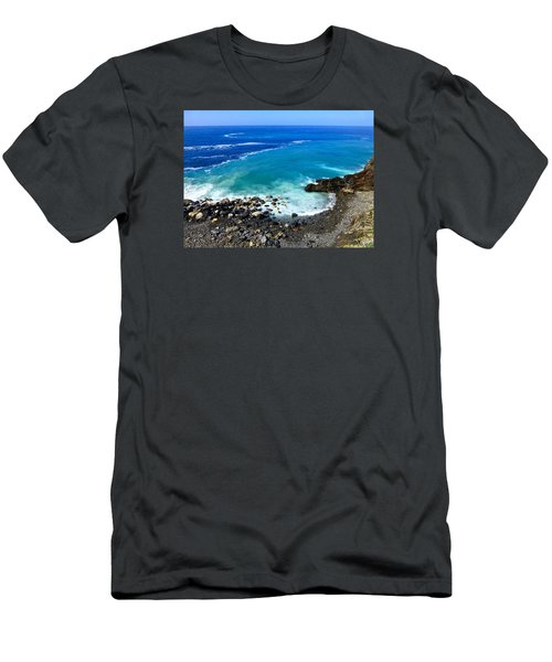 Ligurian Coastline Men's T-Shirt (Athletic Fit)