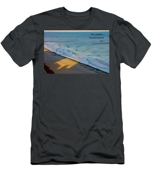Like A Shadow Men's T-Shirt (Slim Fit) by Rhonda McDougall