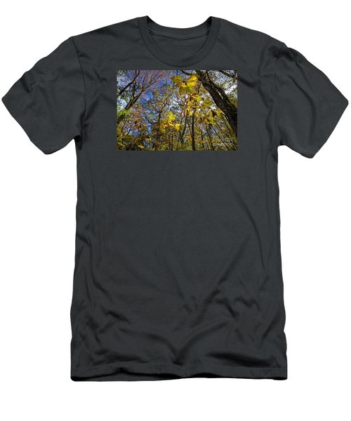 Like Giant Yellow Butterflies Men's T-Shirt (Athletic Fit)