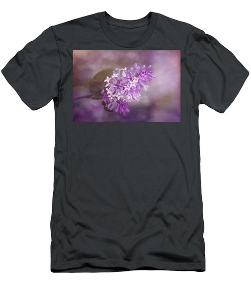 Men's T-Shirt (Slim Fit) featuring the photograph Lilac Blossom by Tom Mc Nemar