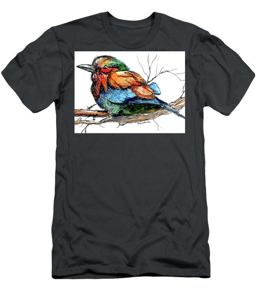 Lilac Breasted Roller Men's T-Shirt (Athletic Fit)