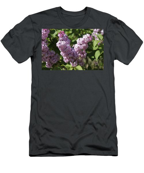 Men's T-Shirt (Slim Fit) featuring the digital art Lilacs by Antonio Romero