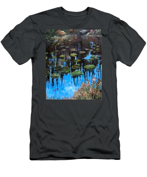 Lilly Pads And Reflections Men's T-Shirt (Athletic Fit)