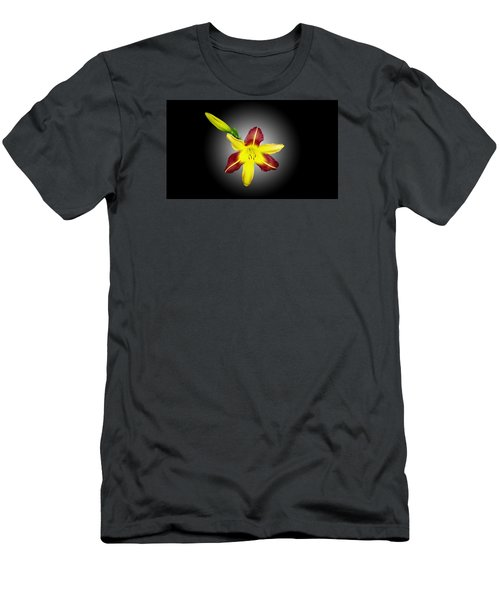 Men's T-Shirt (Slim Fit) featuring the photograph Lily And Bud by Mike Breau