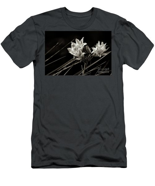 Lily In Monochrome Men's T-Shirt (Slim Fit) by Nicholas Burningham