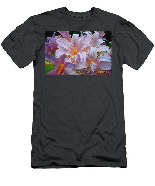 Lily Lavender Closeup Men's T-Shirt (Athletic Fit)