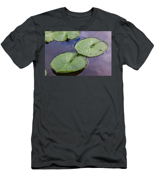 Lily Pad Reflections Men's T-Shirt (Athletic Fit)