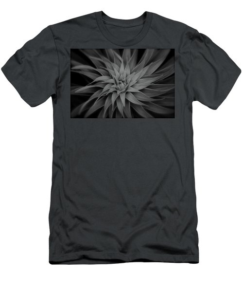 Lily Swirl Men's T-Shirt (Athletic Fit)
