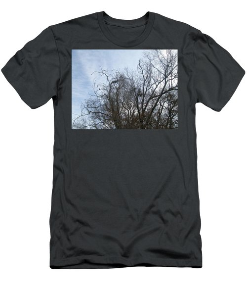 Men's T-Shirt (Slim Fit) featuring the photograph Limbs In Air by Jewel Hengen
