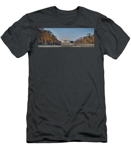 Lincoln From Afar Men's T-Shirt (Athletic Fit)