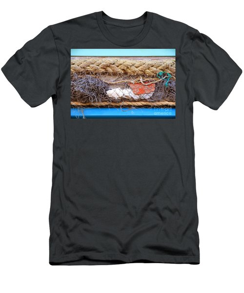 Line Of Debris Men's T-Shirt (Athletic Fit)