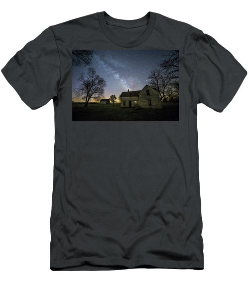 Men's T-Shirt (Slim Fit) featuring the photograph Linear by Aaron J Groen