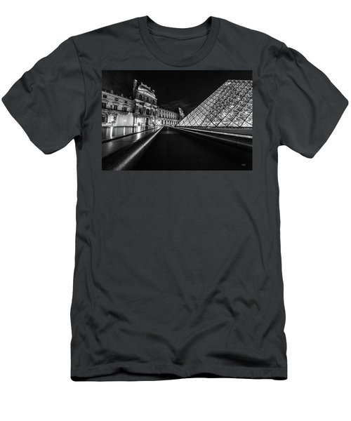 Lines Of The Louvre Men's T-Shirt (Athletic Fit)