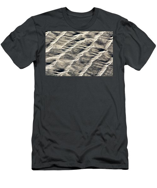 Lines On The Beach Men's T-Shirt (Athletic Fit)