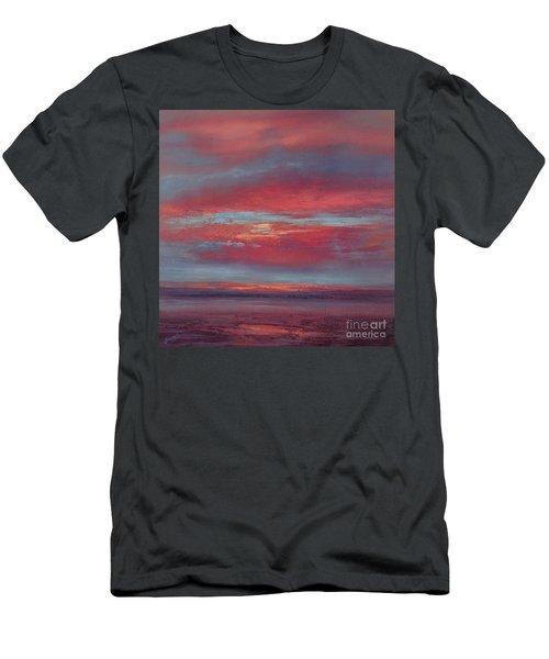 Lingering Heat Men's T-Shirt (Slim Fit) by Valerie Travers