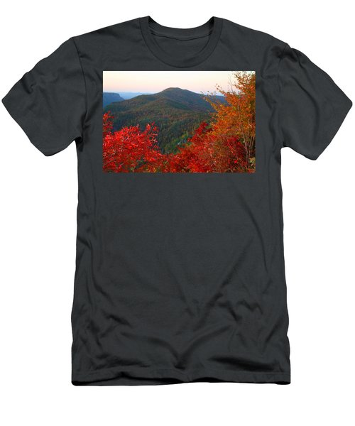 Men's T-Shirt (Slim Fit) featuring the photograph Linville Gorge by Kathryn Meyer