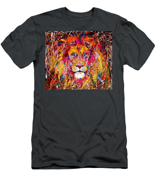 Lion 4 Men's T-Shirt (Athletic Fit)