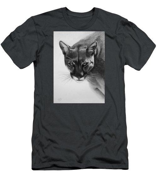 Lion Of The Andes Men's T-Shirt (Slim Fit) by Vishvesh Tadsare