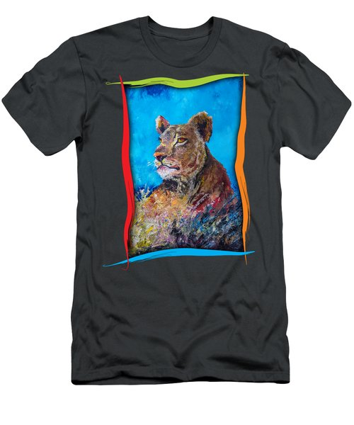 Lioness Pride Men's T-Shirt (Athletic Fit)