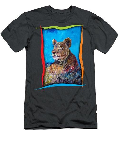 Lioness Pride Men's T-Shirt (Athletic Fit)