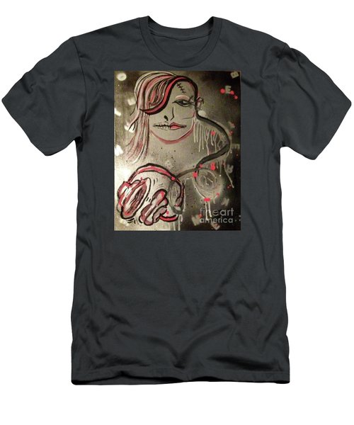Liquid Ether Spacial Sound Men's T-Shirt (Slim Fit) by Talisa Hartley