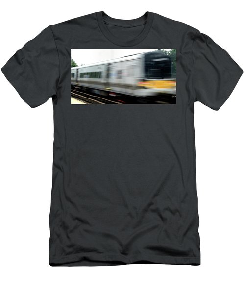 Lirr East Bound Men's T-Shirt (Athletic Fit)