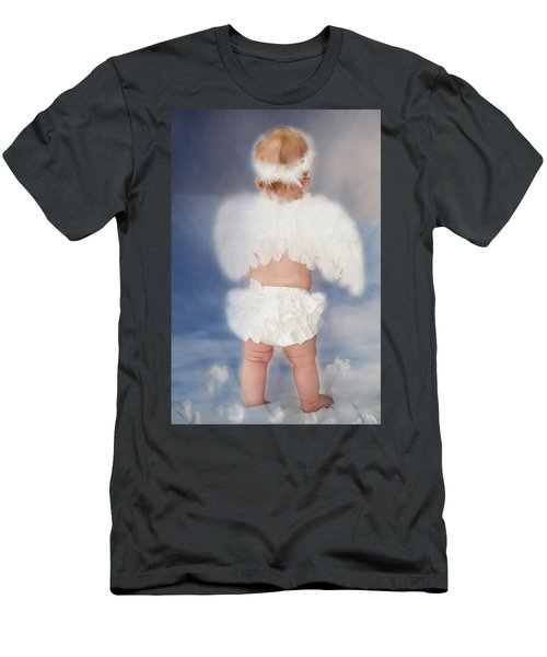 Little Angel Men's T-Shirt (Athletic Fit)