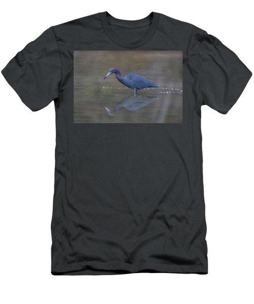Little Blue Bubbles Men's T-Shirt (Athletic Fit)