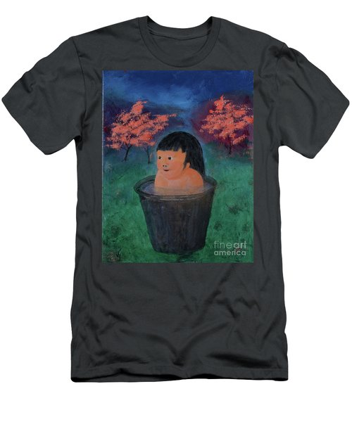 Little Darling Happiness Men's T-Shirt (Athletic Fit)