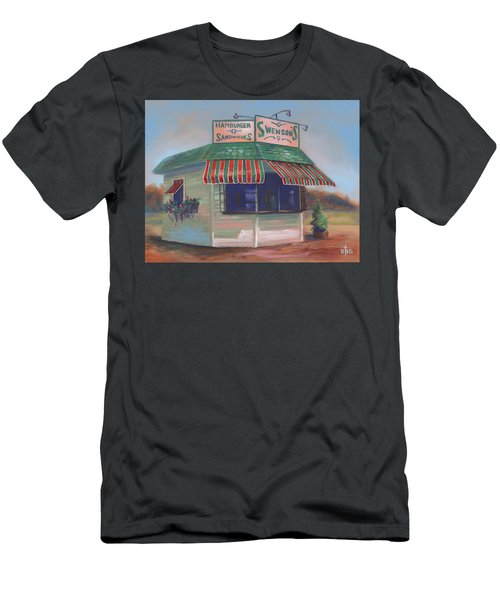 Little Drive-in On South Hawkins Ave Men's T-Shirt (Athletic Fit)