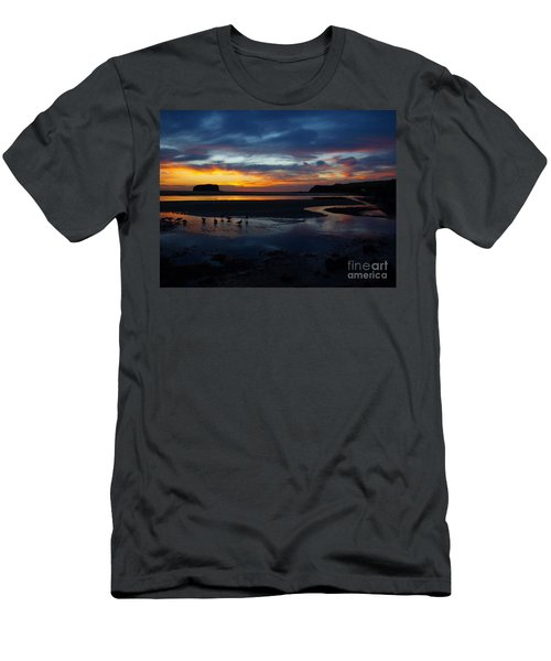 Men's T-Shirt (Slim Fit) featuring the photograph Little Ducks by Trena Mara