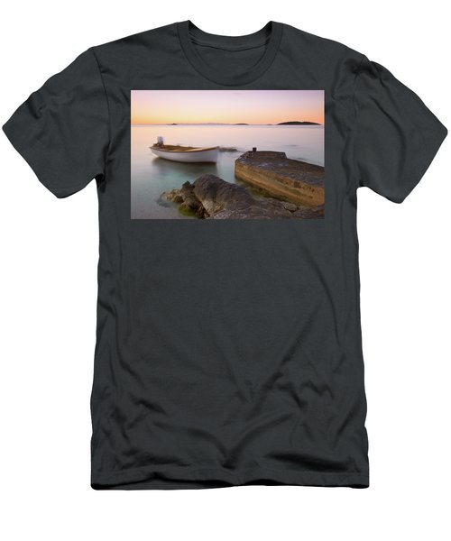 Men's T-Shirt (Athletic Fit) featuring the photograph Little Haven by Davor Zerjav