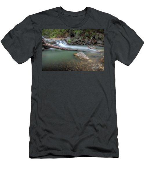 Little Missouri Falls 2 Men's T-Shirt (Athletic Fit)