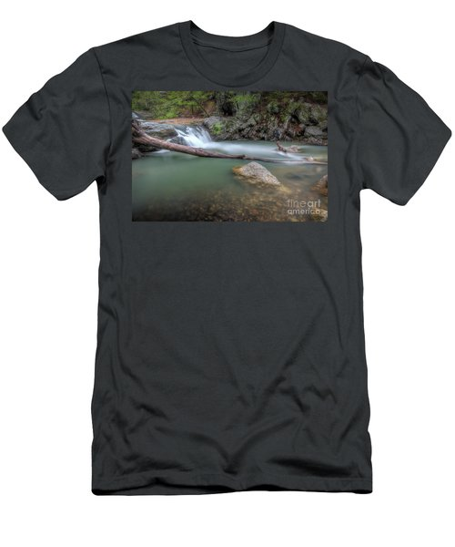 Little Missouri Falls 2 Men's T-Shirt (Athletic Fit)