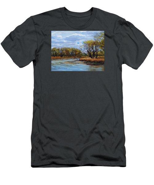 Little Sioux April Men's T-Shirt (Athletic Fit)