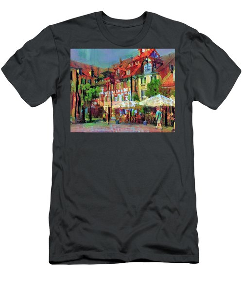 Little Town Men's T-Shirt (Athletic Fit)
