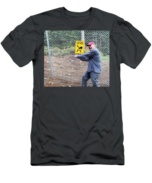 Live Wire Men's T-Shirt (Athletic Fit)