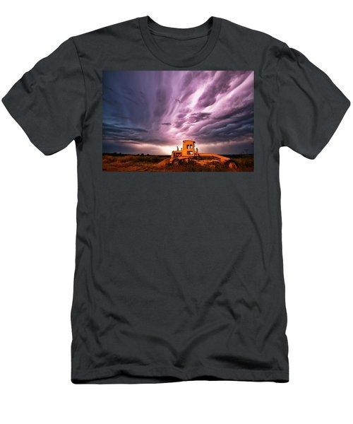 Living Sky In Nebraska Men's T-Shirt (Athletic Fit)