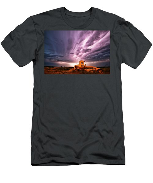 Living Sky In Nebraska Men's T-Shirt (Athletic Fit)
