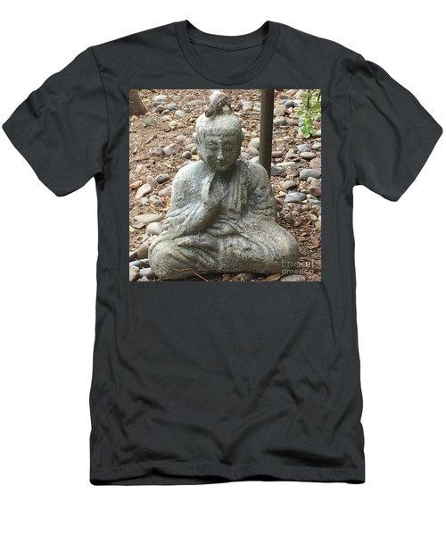 Lizard Zen Men's T-Shirt (Slim Fit) by Kim Nelson