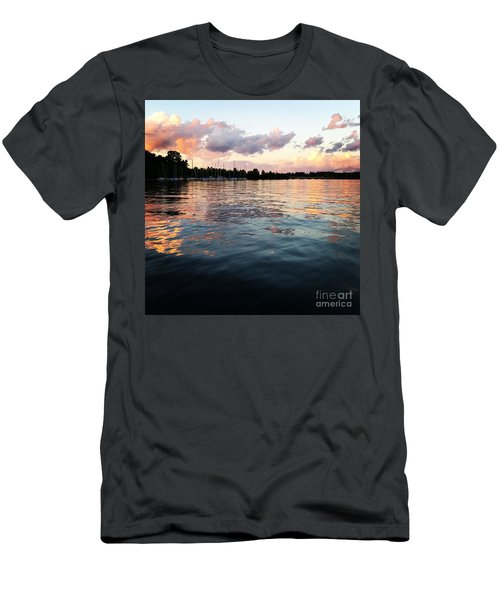 Lkn Water And Sky II Men's T-Shirt (Athletic Fit)