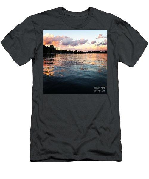 Lkn Water And Sky II Men's T-Shirt (Slim Fit)