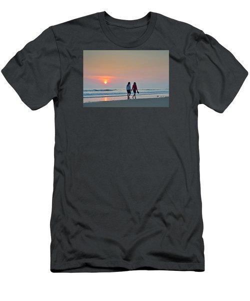 Llangennith Men's T-Shirt (Athletic Fit)