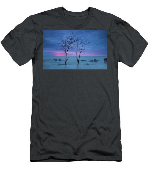 Lm Trees Men's T-Shirt (Athletic Fit)