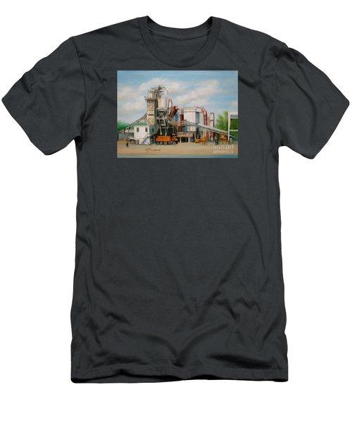 Load  The Big Orange Truck Men's T-Shirt (Athletic Fit)